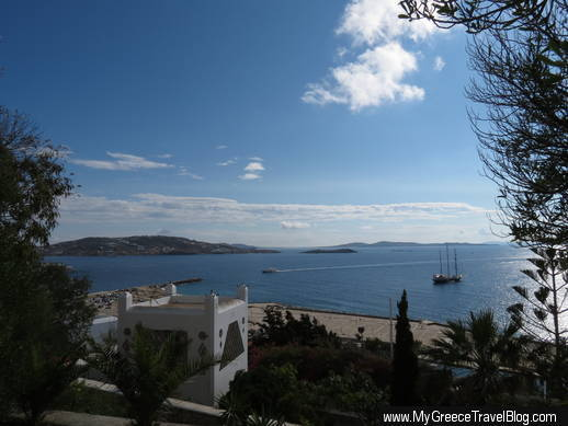 Mykonos seafront