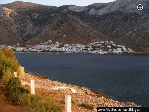 Kamares port on Sifnos