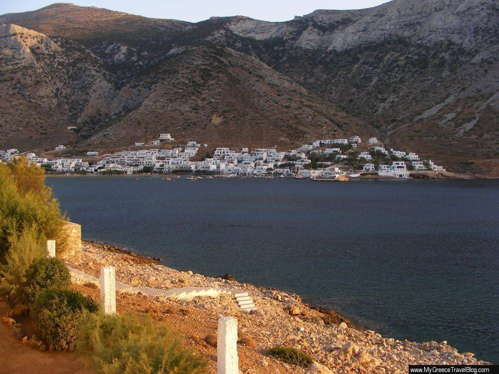 Kamares the port town on Sifnos