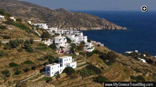 Looking south toward the Agios Ioannis area on Ios