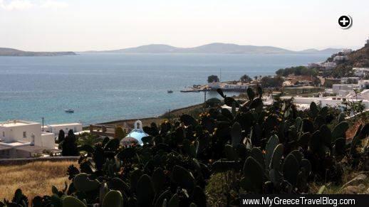 Agios Ioannis resort area of Mykonos