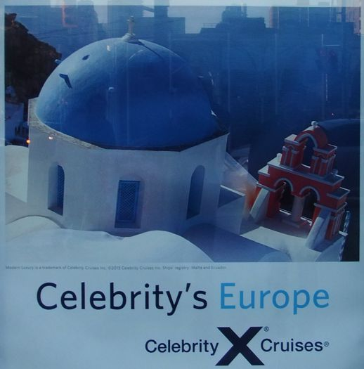 Celebrity Cruises ad