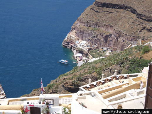 Fira view of caldera