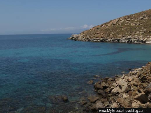 Kapari Bay on Mykonos