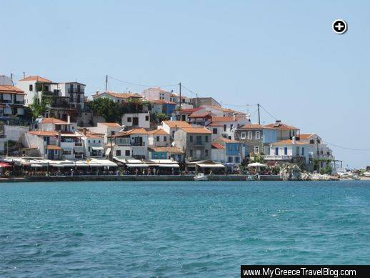 Harbour view of Kokkari village on Samos