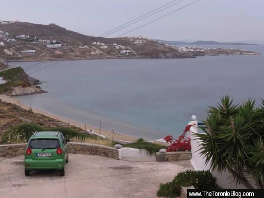 Megali Ammos beach Mykonos