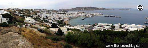 Mykonos Town panoramic