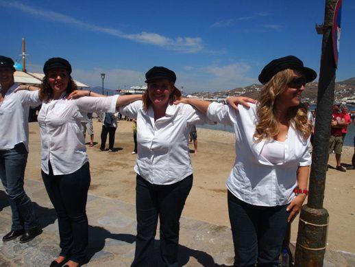 syrtaki dancing Mykonos