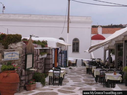 Paraportiani Taverna Mykonos