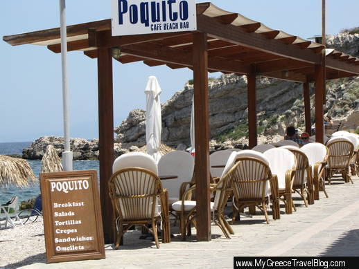 Poquito cafe and beach bar