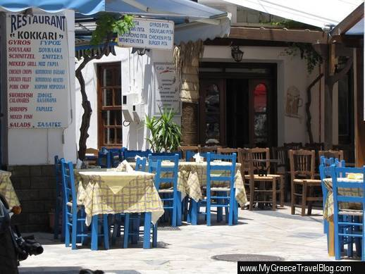 Photos Of Tavernas Amp Restaurant Signs At Kokkari On Samos