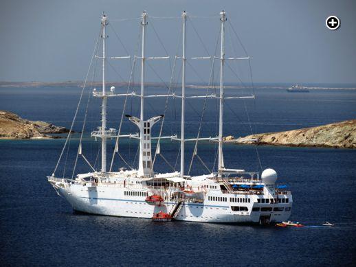 Windstar Wind Spirit cruise ship