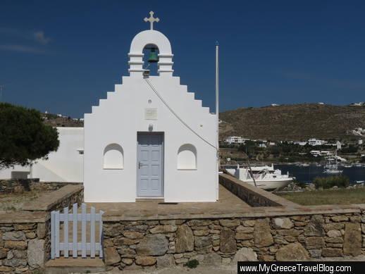 church at Ornos Mykonos