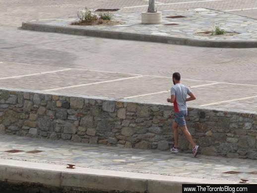 new Mykonos waterfront marina