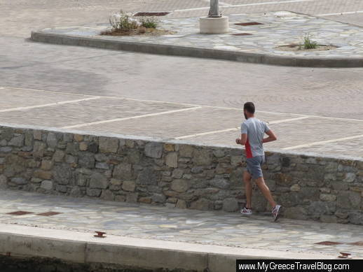 new Mykonos Town waterfront marina