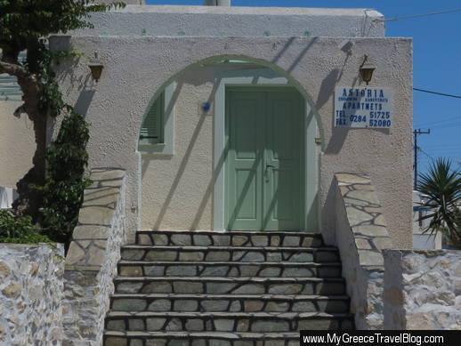 Astoria studios in Naoussa Paros