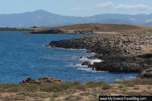 Paros coastline