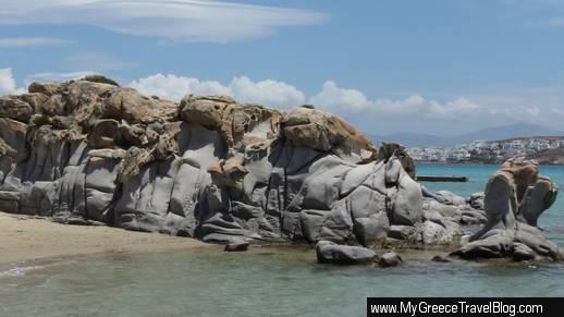 Kolimbithres beach