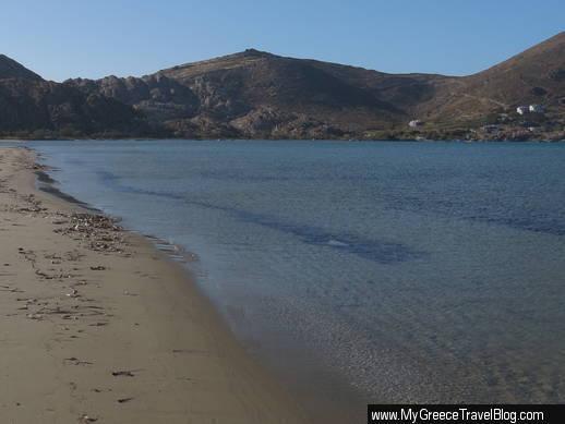 beach near Livadia Paros