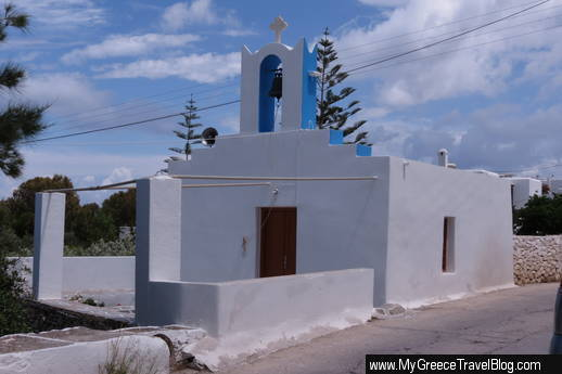 a church in Naoussa