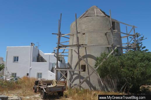 a Naoussa windmill