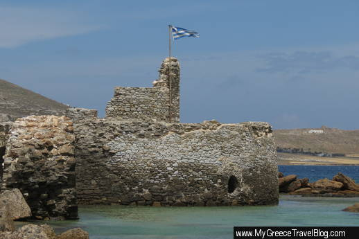 Venetian fortress at Naoussa