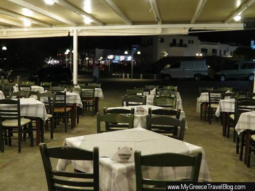 Meltemi Taverna in Naoussa