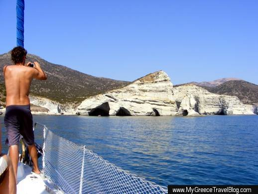 Kleftiko coast of Milos