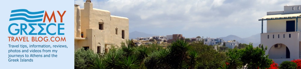 Buildings at Agia Anna on Naxos