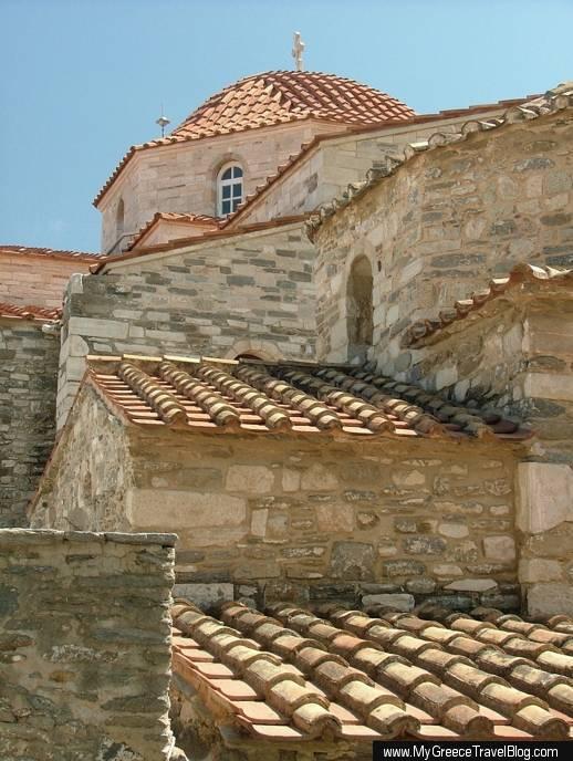 Ekatontapliani church in Parikia on Paros
