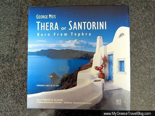 Georges Meis book Thera or Santorini
