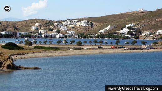 Grikos Bay on Patmos