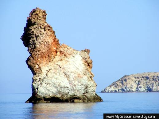 Arkoudes rock formation at Milos