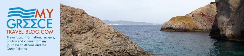 Rugged Coast at Firopotamos on Milos