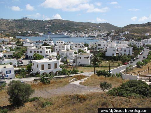 Skala port on Patmos