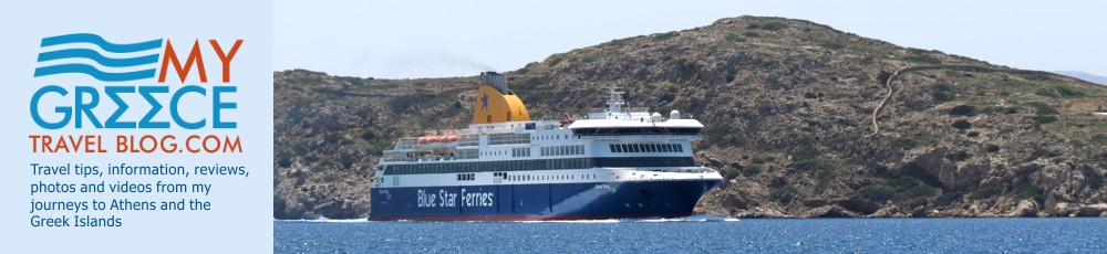 The Blue Star Delos Arriving at Ios