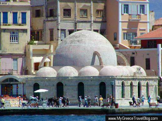 mosque at Chania harbour