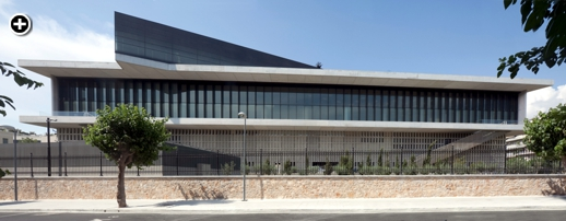 A Nikos Daniilidis photo of the southern facade of the Acropolis Museum in Athens