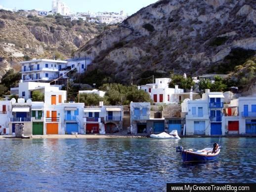 Klima village on Milos