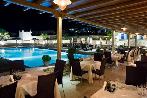 Aleka restaurant Ornos Mykonos