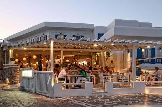 Blue Myth restaurant Mykonos