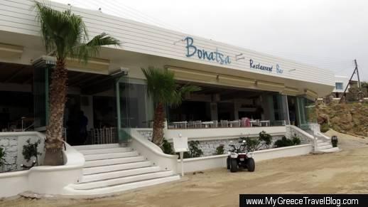 Bonatsa Open Kitchen restaurant Mykonos