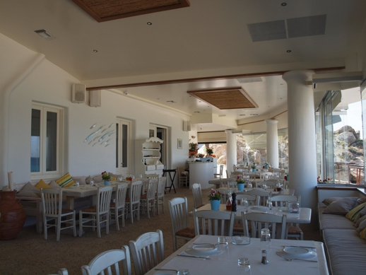 Bonatsa Open Kitchen restaurant at Platis Gialos beach Mykonos