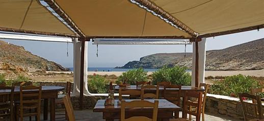 Fokos Taverna at Fokos beach Mykonos