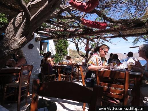 Kiki's Taverna Agios Sostis Mykonos