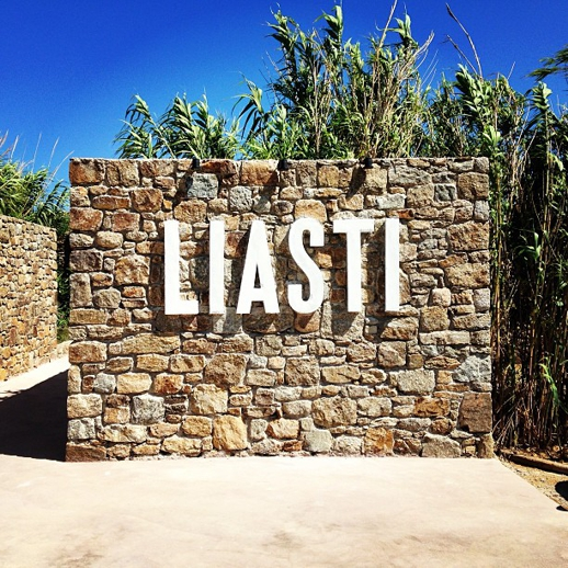 Liasti restaurant Lia beach Mykonos