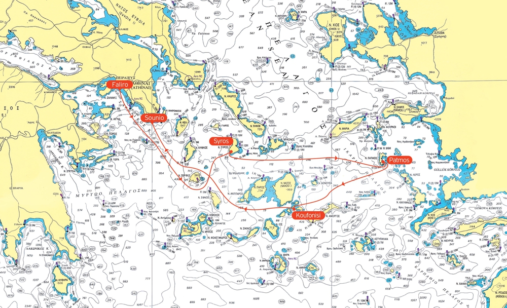 50th annual Aegean Sailing regatta gets underway today MY GREECE
