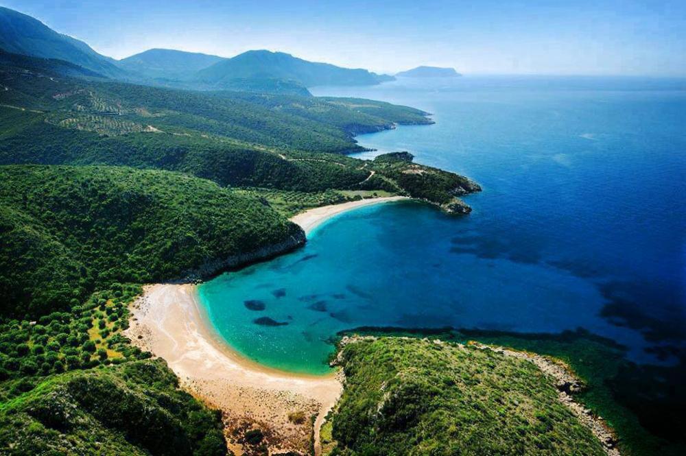 Marathias beach at Halkidiki Greece