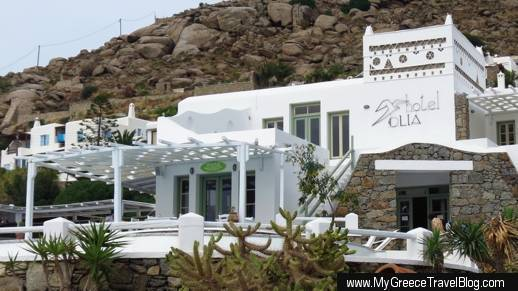 Meze on Port restaurant at Tourlos Mykonos