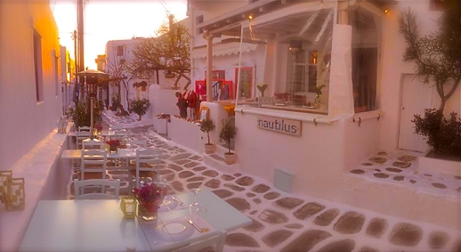 Nautilus restaurant  Mykonos Town